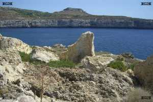 fomm ir rih bay malta irdum maltese for cliffs and the birth of rock area for stalagmites and no cave popcorn or no cave coral