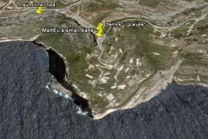 il fawwara malta geology syncline fold tanks larders temple builders phoenicians