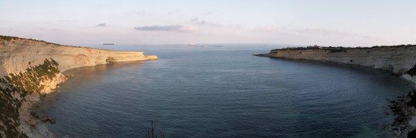 Marsascala things to do and visit - circular bays Il-Hofra Z-Zghira and Il-Hofra L-Kbira