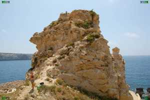 arete shoulder butte qollas icke fomm ir-rih bay beach maltese malta