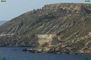 blue clay malta talus cliffs irdum fomm ir rih bay