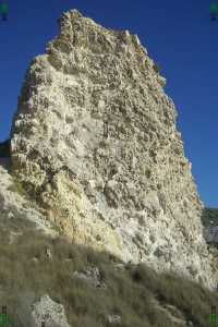 missing outer casing layer butte qolla icke maltese islands