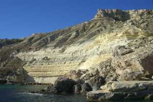stunning landscape photographs malta fomm ir rih bay cliffs layers