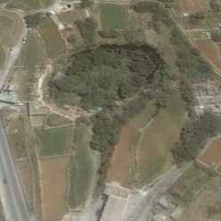 il maqluba inland solution subsidence structure doline depression malta photographs aerial satellite images folklore old ancient