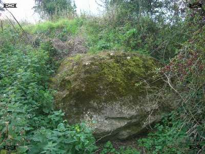 the merton stone - east anglian glacial erratics stones rocks merton norfolk - britains largest glacial erratic