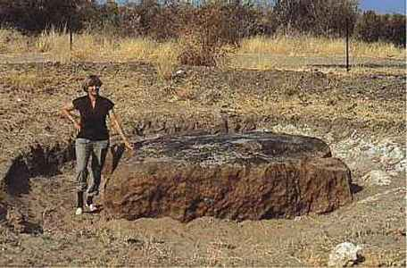 hoba meteorite hobawest grootfontein namibia