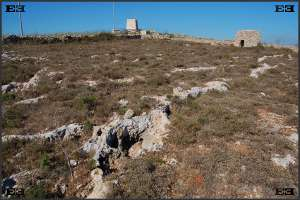 limestone deposits erosion near Mgarr globigerina lower upper coralline maltese malta geology