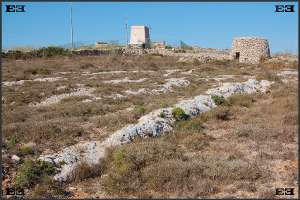 limestone ridges and puzzling geology near Nadur Tower Bingemma Gap Malta's Victoria Lines Maltese