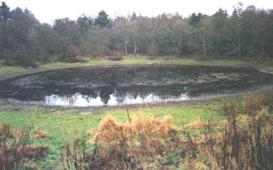 devils punchbowl mere norfolk water english british uk