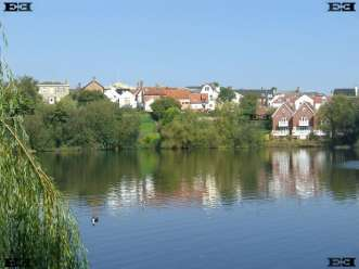 diss mere slope sides norfolk england river waveney hundred of dice formation creation volcano legend