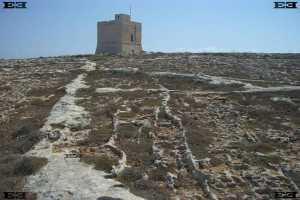 Mediterraneo Marine Park Bahar ic Caghaq Malta Saint St Marks Tower
